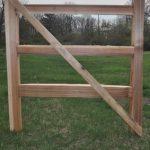Western Red Cedar Gate
