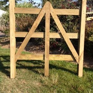 Split Rail Gate